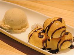 プチシュー&アイスクリーム
